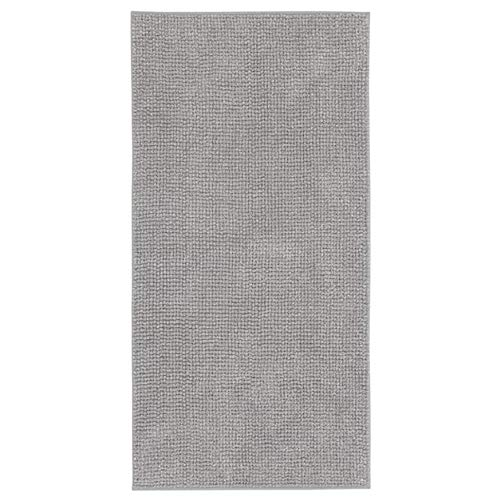 Ikea Toftbo Bath mat Gray-White Melange 24x47 404.589.21