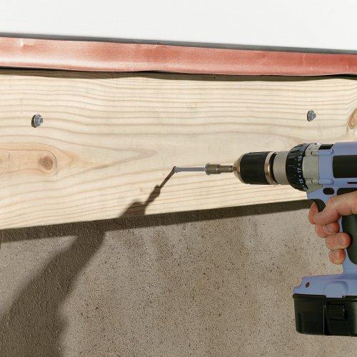 deck ledger board screws