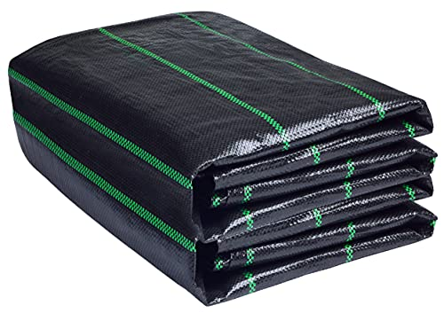 LawnScape Weed Control Membrane 2M x 10M | UV Stabilized Woven PP...