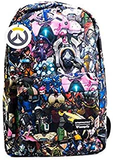 Loungefly Overwatch All-Over-Print Characters Backpack