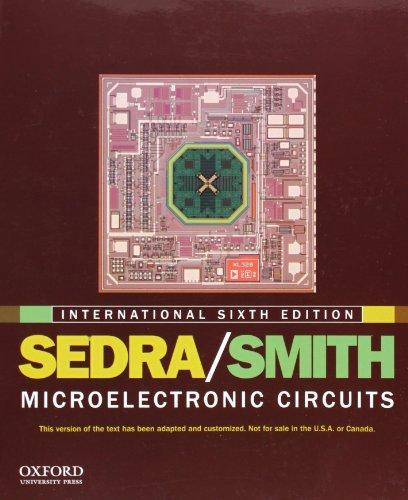 Microelectronic Circuits: International edition