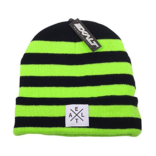 Exalt Paintball Beanie – Crossroads – Giftig – Lime/Schwarz
