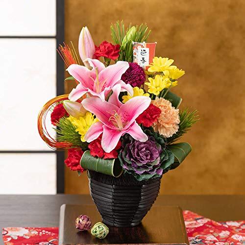 お正月 アレンジメントフラワー 「慶び花 ~迎春~」