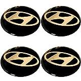 Mozzo ruota Caps Hyundai emblemi Cerchioni di logo mozzo tappo mozzo ruota tappo 4X 56mm
