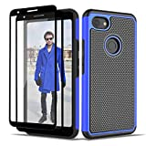 Jeylly Google Pixel 3a Case with 2x Screen Protector,