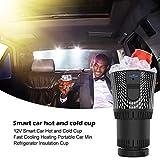 lembrd Auto Tassenwärmer Kühler - Smart Combo Auto Tasse Kühlschrank - 12V Auto