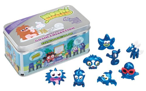 Moshi Monsters – Boite Goshi Collection – 8 Figurines Moshlings Edition Limitée (Import Royaume Uni)