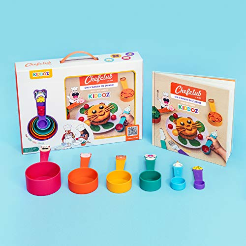 Coffret Chefclub Kids : On s'amuse en cuisine avec les tasses Kiddoz