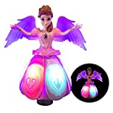 LilPals Beautiful Dancing Princess Angel Doll – Toy Features Amazing Music, Walks, Spins, Dances and Emits Awesome Light & Sound - Kids of All Ages