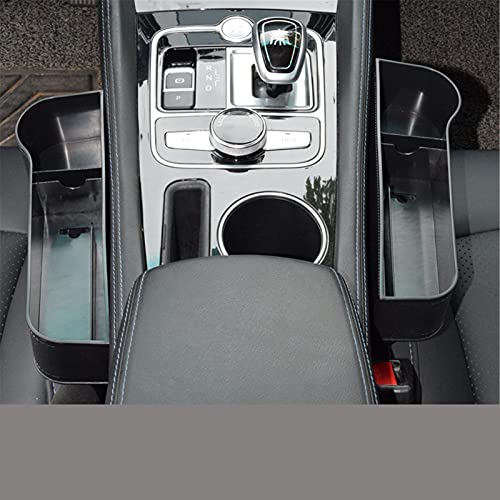 LYSHUI Caja de Almacenamiento de Espacio para Asiento de Coche, para Hyundai Creta I10 I20 Tucson Elantra Santa Fe Solaris Creta Veloster Sonata I40 Strikers