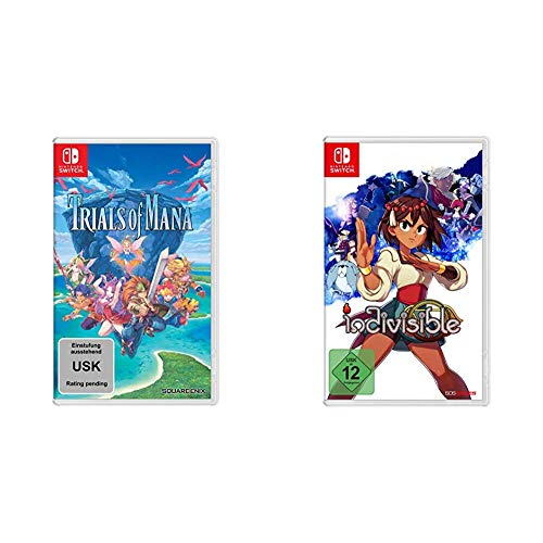 Trials of Mana [Nintendo Switch] & Indivisible - [Nintendo Switch]