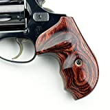 Altamont - S&W J Round Revolver Grips - Bateleur - Real Wood Gun Grips fit Smith & Wesson J Frame Round Butt .38 Special and 9mm Revolvers - Made in USA - Rosewood