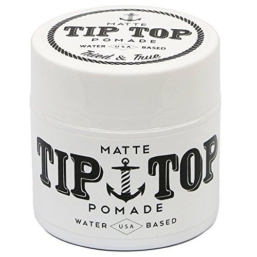 TIP TOP Tip Top Matte Medium auf Wasserbasis Halten Pomade 4,25 Unzen Weiß