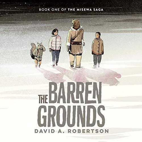 『The Barren Grounds』のカバーアート
