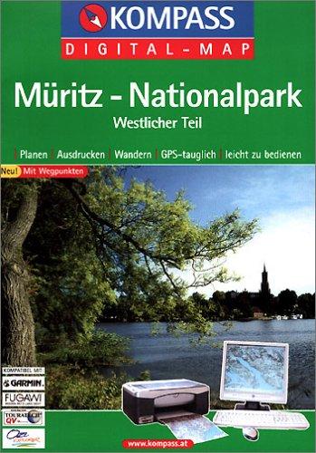 Müritz-Nationalpark, Westlicher Teil, 1 CD-ROMPlanen, Ausdrucken, Wandern. GPS-tauglich. Mit Wegpunkten. Für Windows 95/98/2000/NT/XP