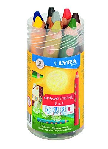 Lyra Groove Triple 1, Crayon de Couleur