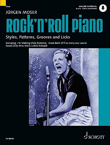 Rock'n' Roll Piano: Styles, Patterns, Grooves and Licks. Klavier. Ausgabe mit Online-Audiodatei. (Modern Piano Styles)