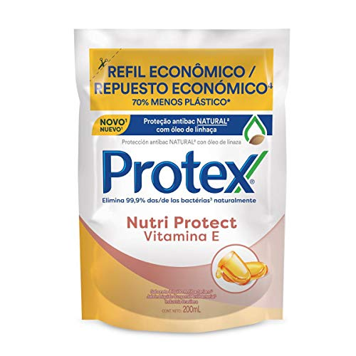 Sabonete Líquido Protex Nutri Protect Vitamina E 200Ml Refil