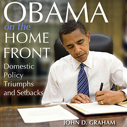 Obama on the Home Front audiobook cover art