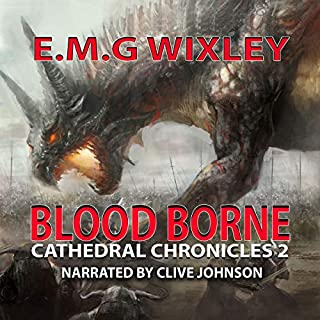 Blood Borne: Cathedral Chronicles 3 audiobook cover art
