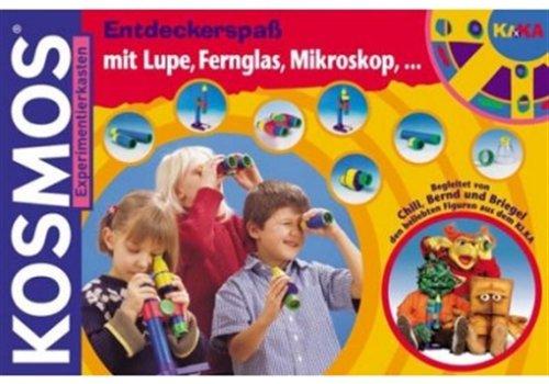 KIKA-Entdeckerspaß mit Lupe, Fernglas, Mikroskop,
