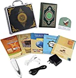 Digital Holy Quran Pen Exclusive Word-by-Word Function for Kid and Arabic Learner Downloading Many Reciters and Languages Digital Qu'ran Talking Pen 5 Small Books Metal Box