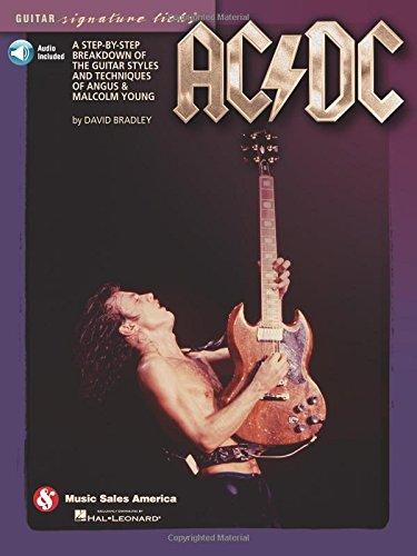 AC/DC - Guitar Signature Licks: Lehrmaterial, CD für Gitarre