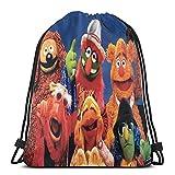 The Muppet Mostrar gimnasio con cordón, mochila deportiva para hombres y mujeres, ligera, grande, portátil, resistente y duradera, mochila de almacenamiento de compras para jóvenes