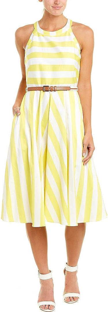 Eliza J Women's Fit and Flare Halter Dress (Regular, Petite, & Plus)
