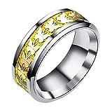 Fashion Rings,Keepfit Vintage Rings for Women Men(Gold,10)