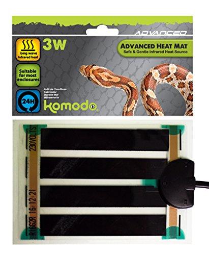 Happy Pet Products 54817/4077 PET-576341 Komodo Erweiterte Heizmatte 3W (10x14cm)