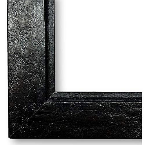 Bilderrahmen Schwarz-Braun DINA0(84,1x118,9) - DIN A0 (84,1 x 118,9 cm) - Modern, Shabby, Vintage - Alle Größen - handgefertigter Holz Fotorahmen Posterrahmen Urkundenrahmen - WRU - Dresden 3,5