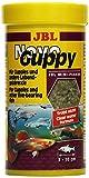 JBL NovoGuppy 30176 Alleinfutter für lebendgebärende Aquarienfische, Flocken 250 ml