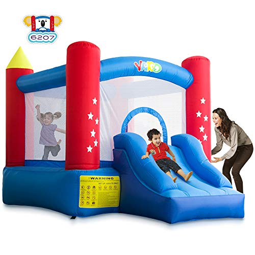 YARD Indoor Outdoor Bounce House with Slide Blower for Kids (6207)