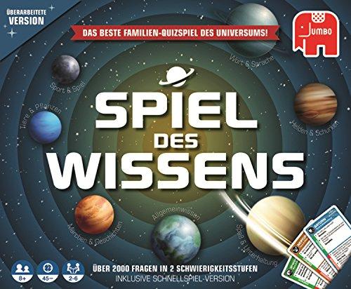 Jumbo Spiele - Spiel des Wissens - Gesellschaftsspiel, Familienspiel - Ab 8 Jahren