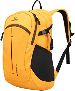 30L Water-Repellent Male Outdoor Backpack Mountain Hiking Female Tourist Backpack, Multi-Color Optional XLSM (Color : Yellow)