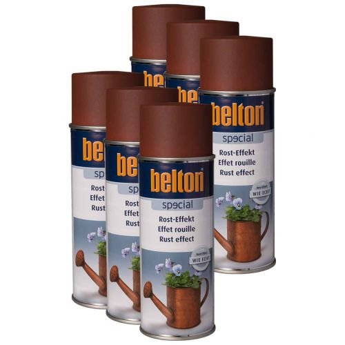 6 x Belton Rost-Effekt 400ml - Rosteffekt Spray