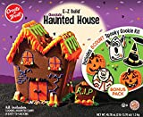Create A Treat® E-Z Build® Halloween Chocolate Cookie Haunted House and Spooky Vanilla Cookie Halloween Decorating Kit, 45.76 oz