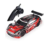 AIOJY 4-Wheel Drive Off-Road Remote Control Car Toy The for Kids 1/18 Scale High Simulation Drift RC Sports Car,Hobby RC Vehicle 2.4Ghz High Speed Competition RC Car