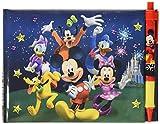 Libro de autógrafos con bolígrafo de Mickey y sus amigos