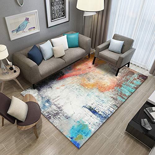 Teppich verdickt Plain Teppich rutschfeste Teppich Wohnzimmer Pad Couchtisch Decke Schlafzimmer Kissen Nacht Yoga-Matte 180X280CM