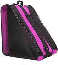 Leorealko Ice Skate Roller Blading Carry Bag with Shoulder Strap for Kids Adults