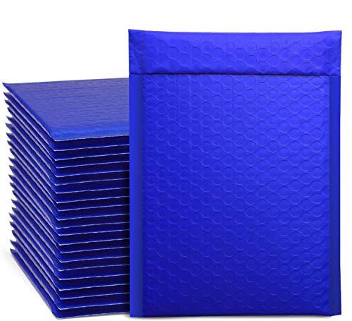 Switory 50 piezas A5 15,3cm×26,9cm cartero de burbujas con sobres burbujas cartero de burbujas sellando su propio paquete verde