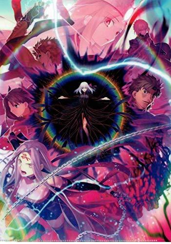特典 劇場版 Fate/stay night [Heaven's Feel]Ⅲ.spring song 前売券特典 第3弾キービジュアルオリジナルクリアファイル
