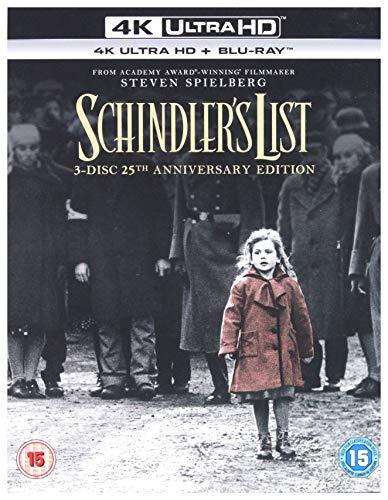 Schindlers List (25Th Anniversary Edition) (3 Blu-Ray) [Edizione: Regno Unito]
