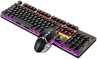 Juego de teclado y ratón para ordenador, X200 teclas de modo ...