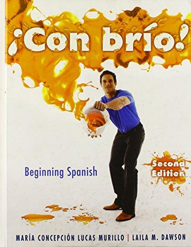 Con brio! Beginning Spanish (Spanish Edition)