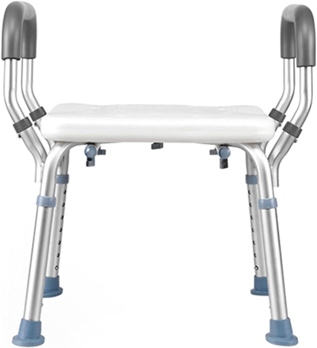Portable Super Rare intense SALE Shower Chair 6 Levels wit Adjustable Stools Tub