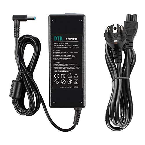 DTK Chargeur Adaptateur Secteur pour Dell: 19,5V 2,31A 45W Connecteurs: 4.5 * 3.0mm Alimentation pour Ordinateur Portable.