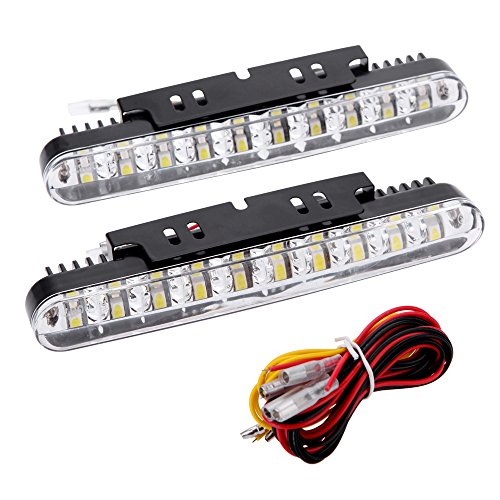 kkmoon 2pcs 30leds Auto tagesüber conducción luz DRL luz de día con Blink lámpara de luces